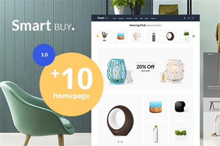 Prestashop数字和花园家庭风格主题Smartbuy