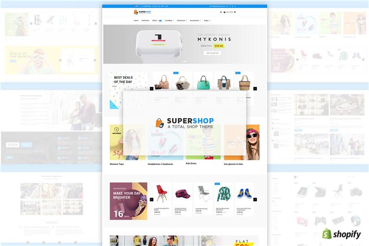 多用途多商店Shopify主题Super Shop