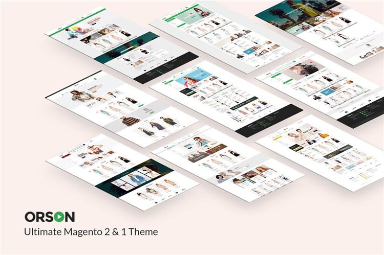 终极Magento 2&1主题模板Orson