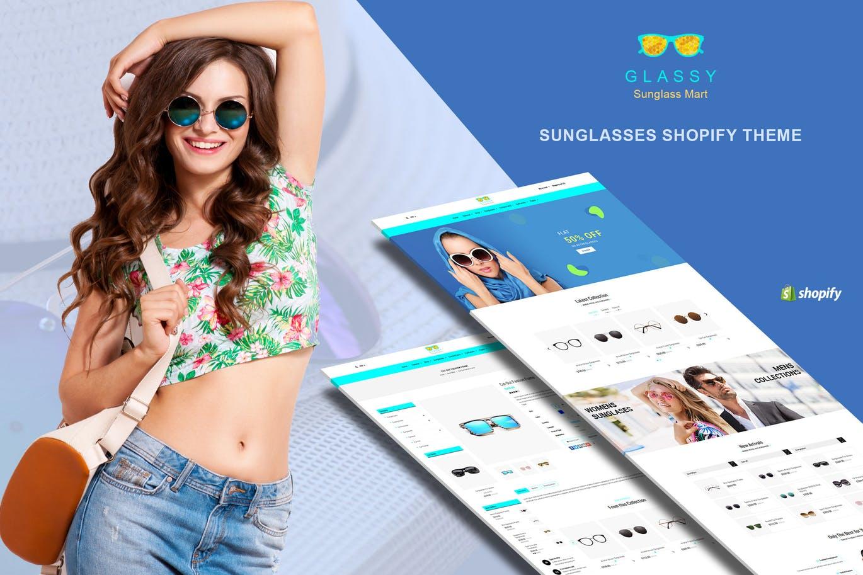 太阳镜时尚Shopify主题Glassy