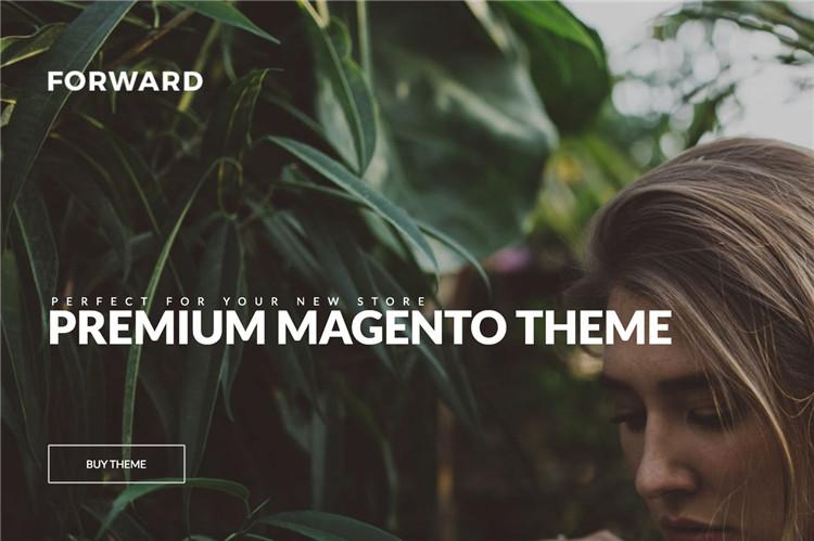 时尚响应Magento1.7-1.9主题模板Forward
