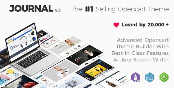 opencart高级主题模板Journal 主题森林销量TOP1