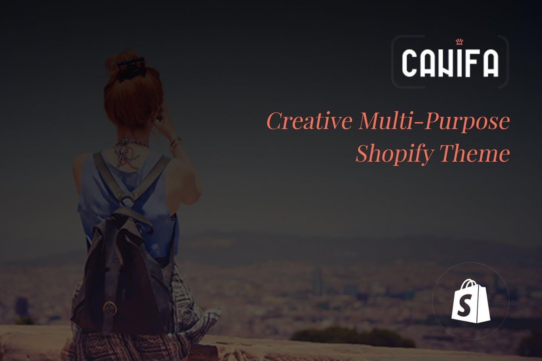 创意多功能Shopify主题Canifa