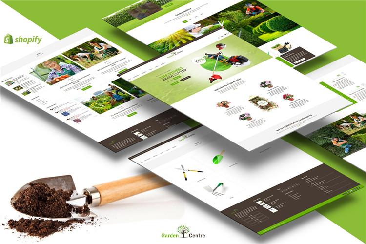 园艺,园林茶叶绿化工具Shopify主题Garden Accessories
