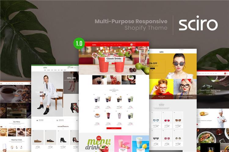 多用途响应Shopify主题Sciro