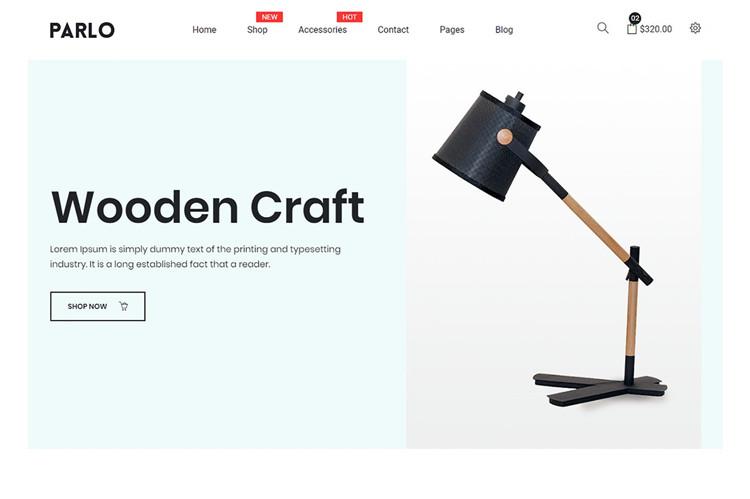多用途电子商务Bootstrap 4模板