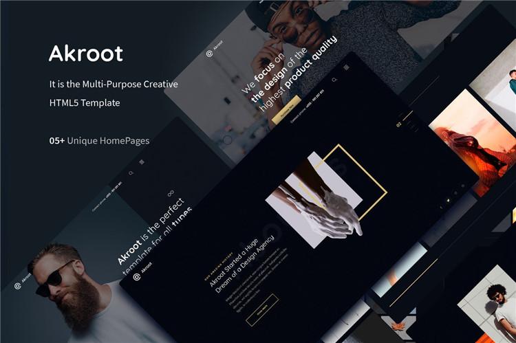 多用途创意HTML5模板Bootstrap