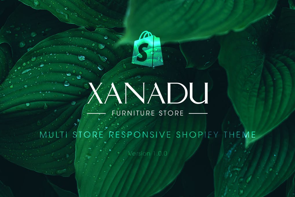 时尚简约家具风格商店shopify主题模板Xanadu