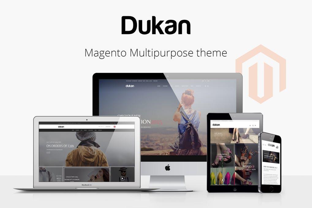多用途Magento1.7-1.9主题模板Dukan