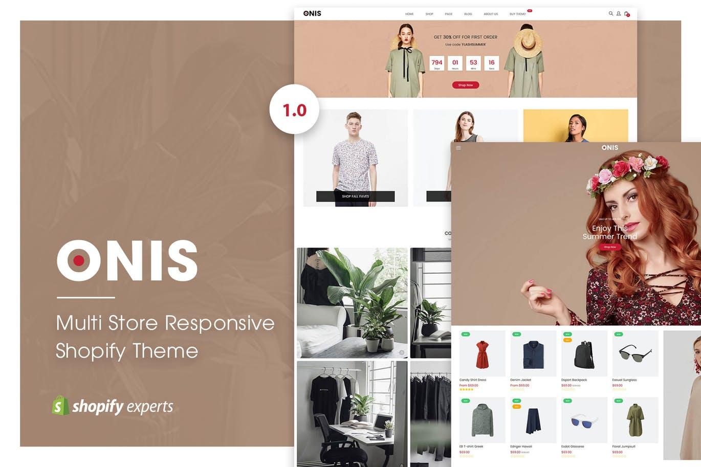 多类目响应式Shopify主题ONIS