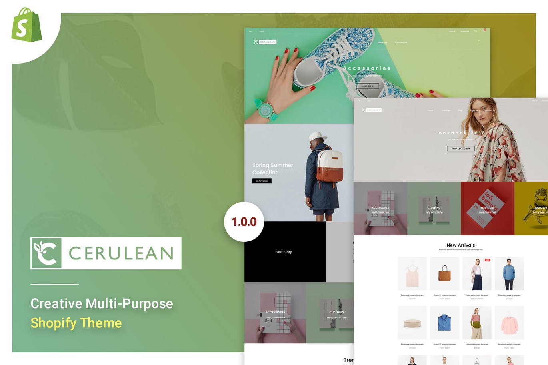 创意多用途Shopify主题Cerulean