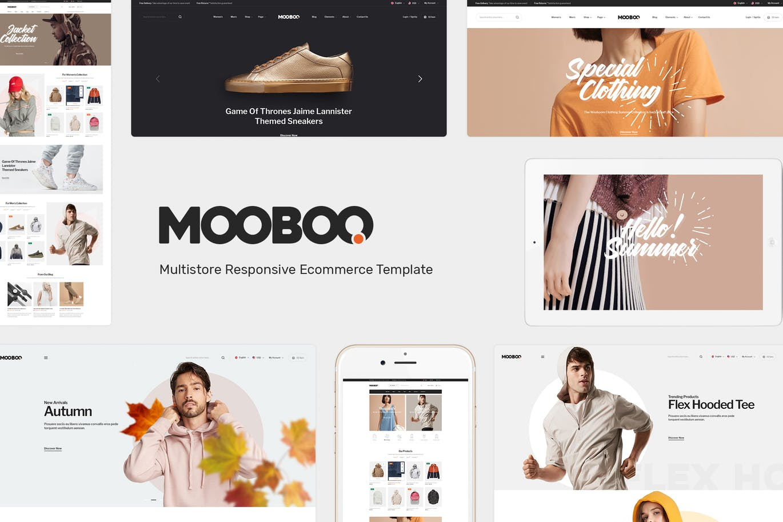 时尚服装鞋帽OpenCart主题模板MooBoo
