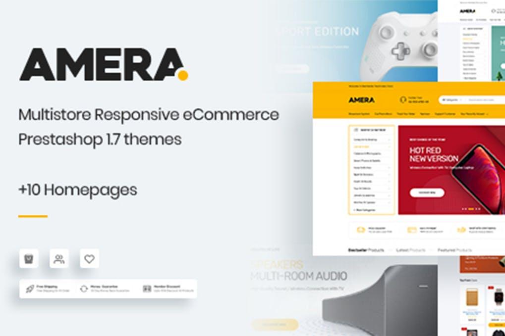 响应式综合商城Prestashop 1.7主题Amera