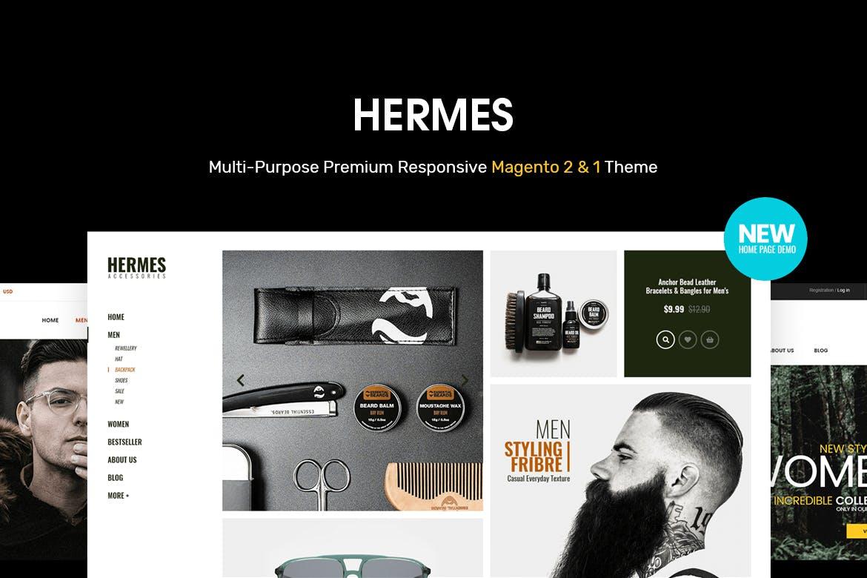 多功能高级响应式Magento 2模板Hermes
