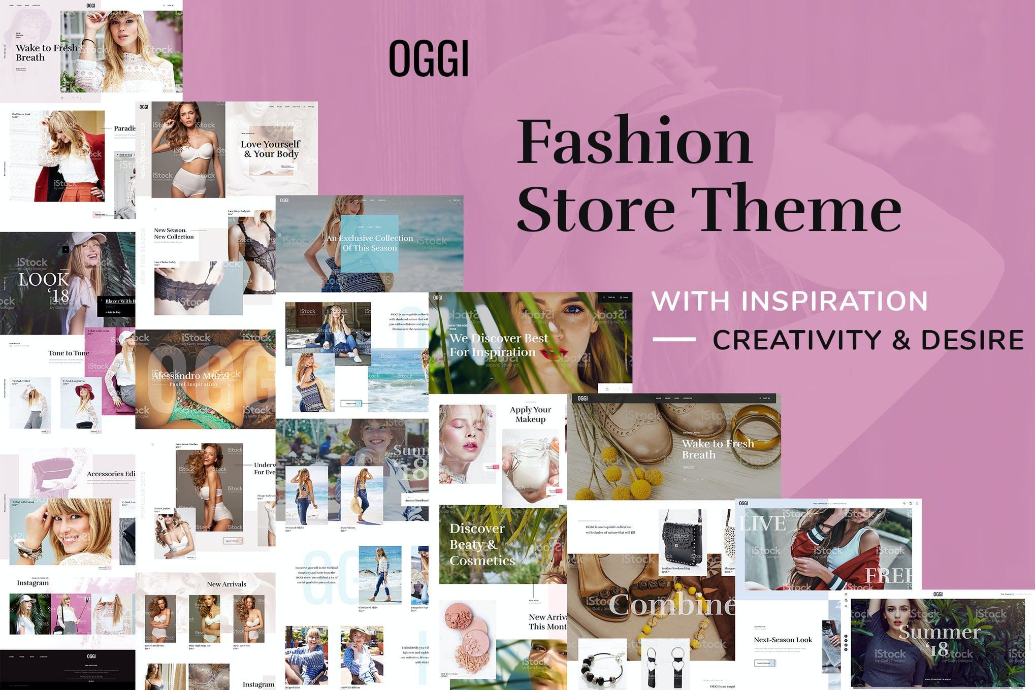 时尚服装商店WooCommerce主题OGGI